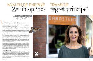 interview Amber van Barnsteen over duurzaam wonen